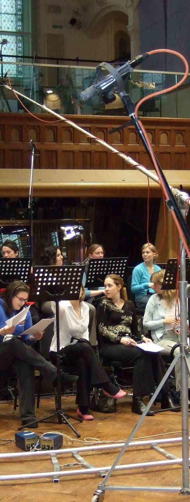 The Bach Choir prepare
