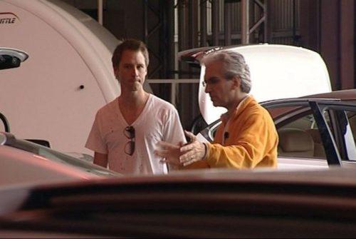 Chris & Chesney during testing
