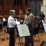 Chris Chats to ITV's Mike Brewer shortly before recording with the London Symphony Orchestra at the world famous AIR Studios.