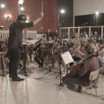 The Bulgarian Concert Orchestra during the Revealing Destiny session.
